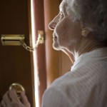 http://www.dreamstime.com/stock-photo-senior-using-security-chain-image4651040